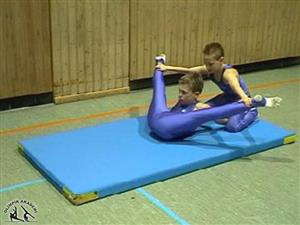 strechıng cimnastik esnetmeleri